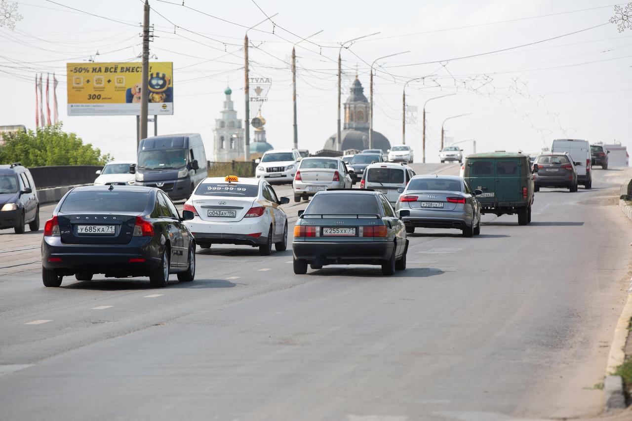 Автомобилисты из каких регионов загружают тульские дороги