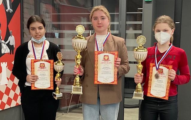 Шахматистка из Тулы стала победительницей Всероссийских соревнований