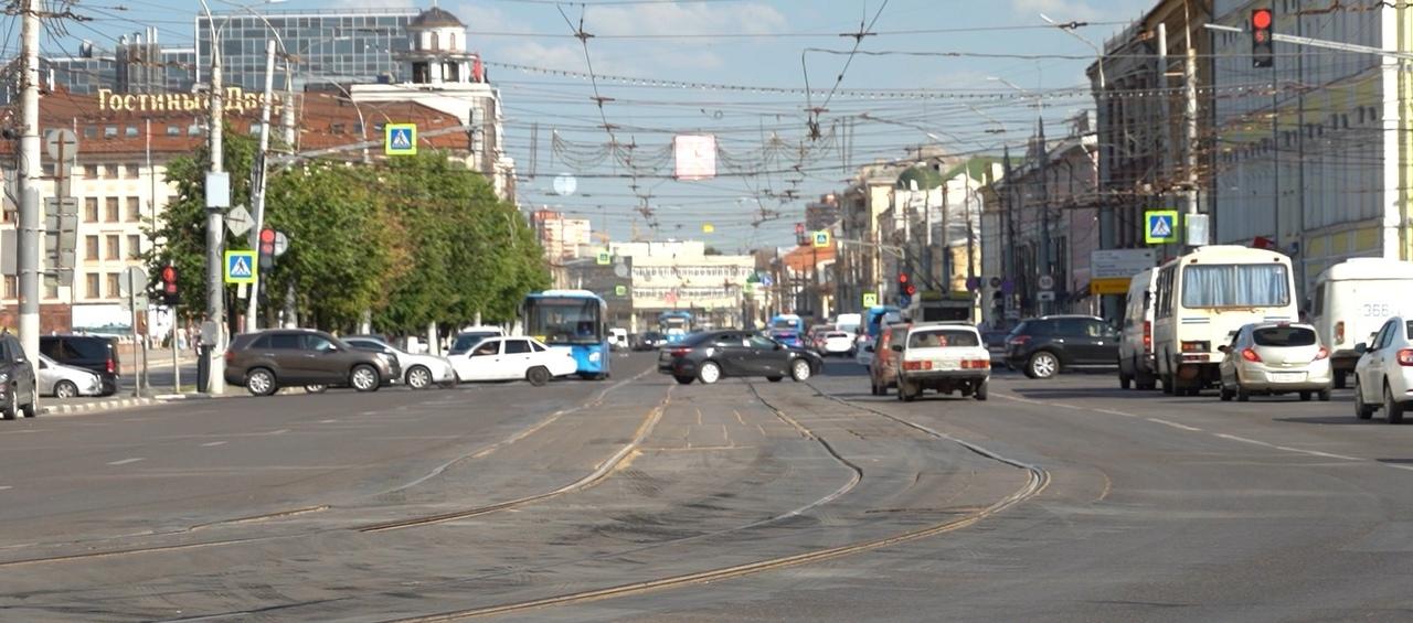 До конца года в Туле отремонтируют трамвайные пути на улице Советской
