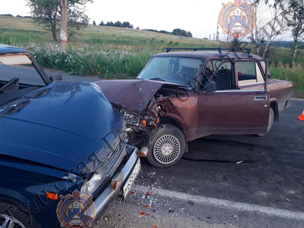 В ДТП в Киреевском районе пострадала 90-летняя бабушка