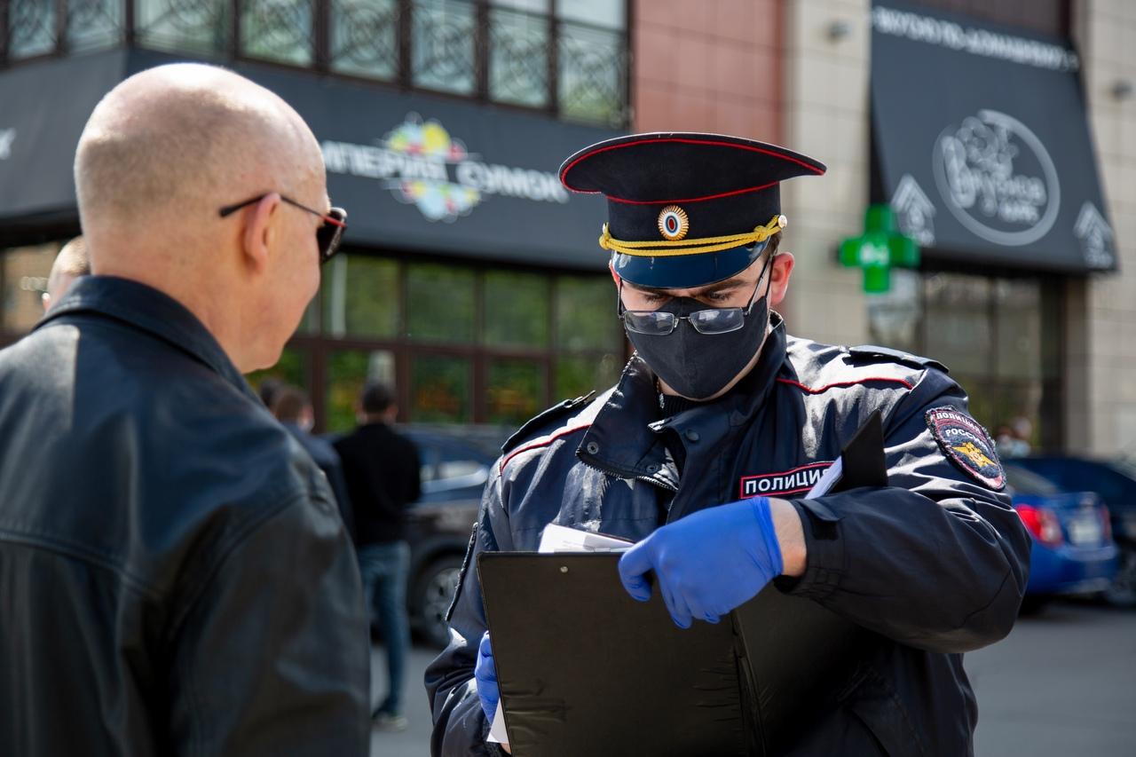 За неделю нарушителей масочного режима в Туле оштрафовали почти на 200 тысяч рублей