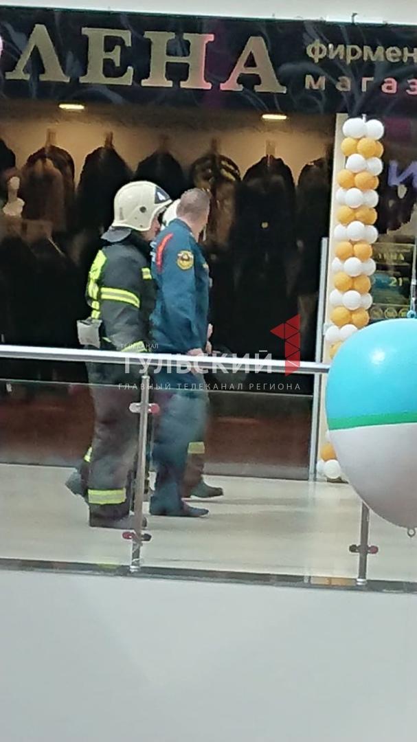 """В Туле эвакуировали посетителей ТЦ """"Рио"""""""