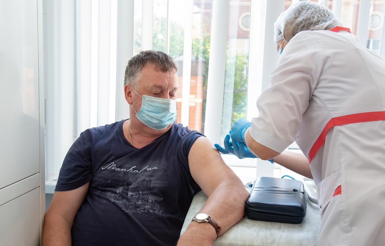 В Тульской области планируется привить от гриппа и ОРВИ 60% населения