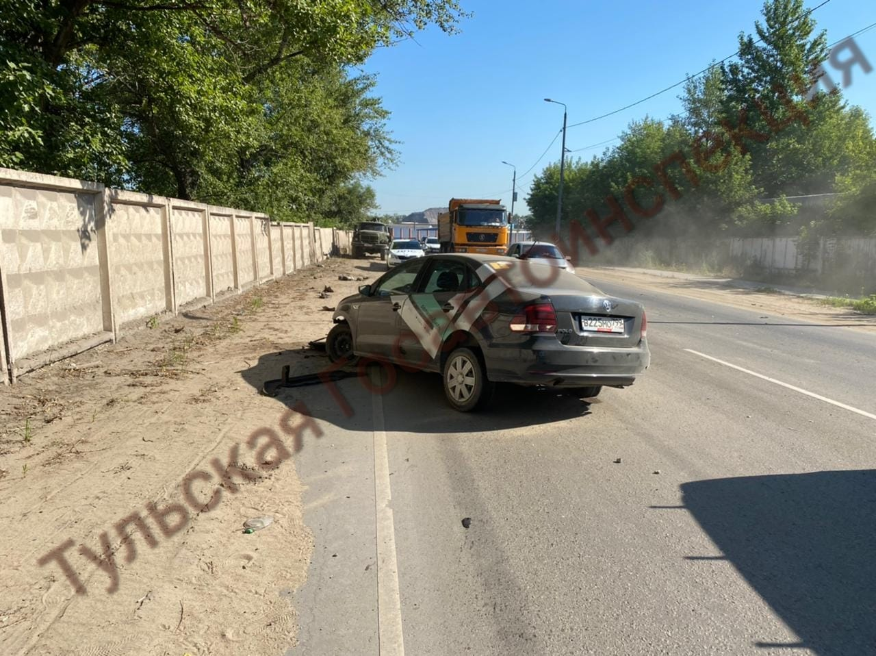 В Туле скрывшегося с места ДТП водителя «Делимобиля» поймали пьяным