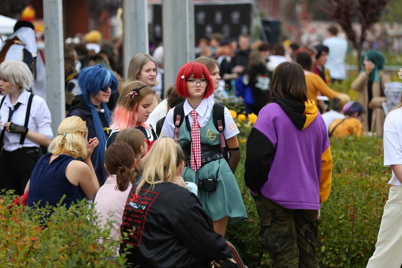 В День города туляки перевоплотились в персонажей анимэ: фоторепортаж