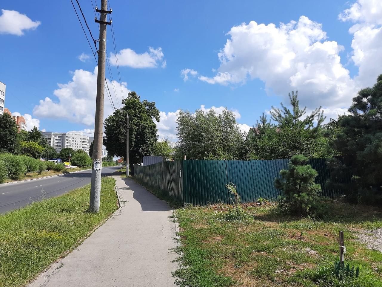 Туляки незаконно заняли земельный участок в Пролетарском округе