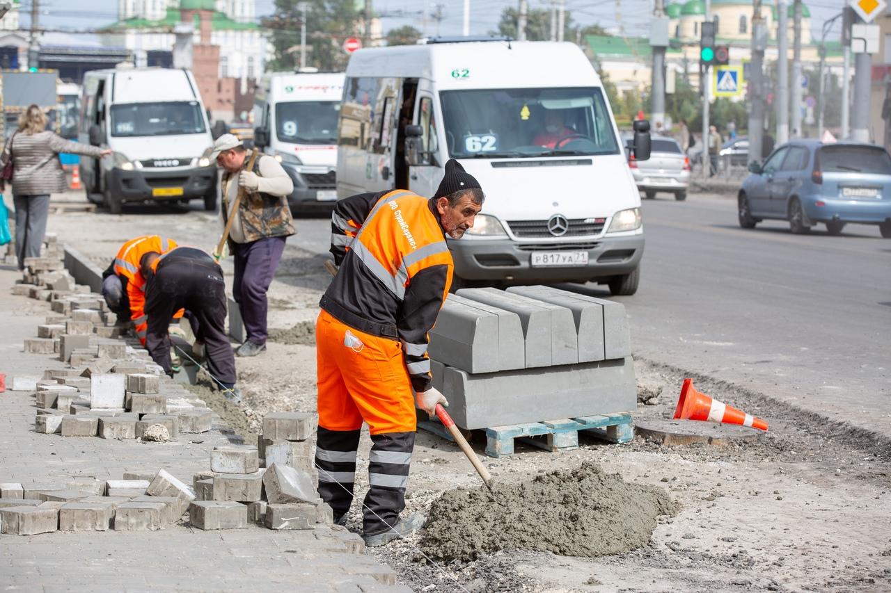 Новые материалы и приемы: как изменится проспект Ленина после ремонта дороги