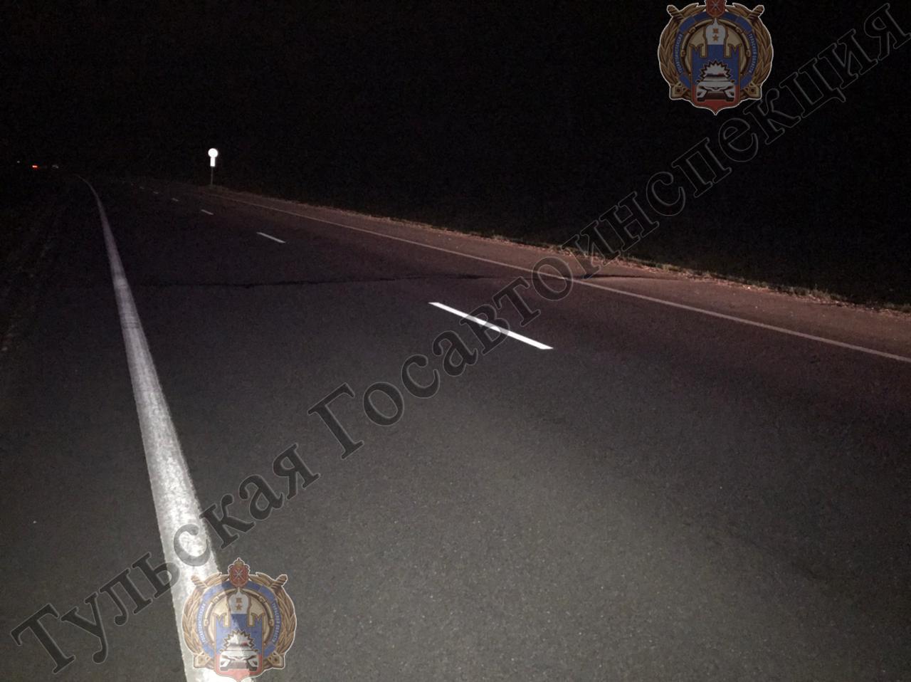 В Туле на дороге сбили пешехода
