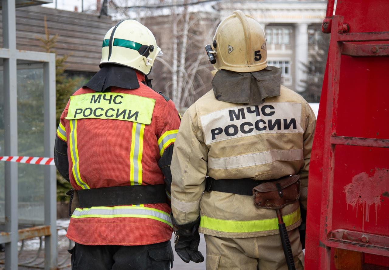В тульском Заречье на пожаре в квартире сгорела кухня