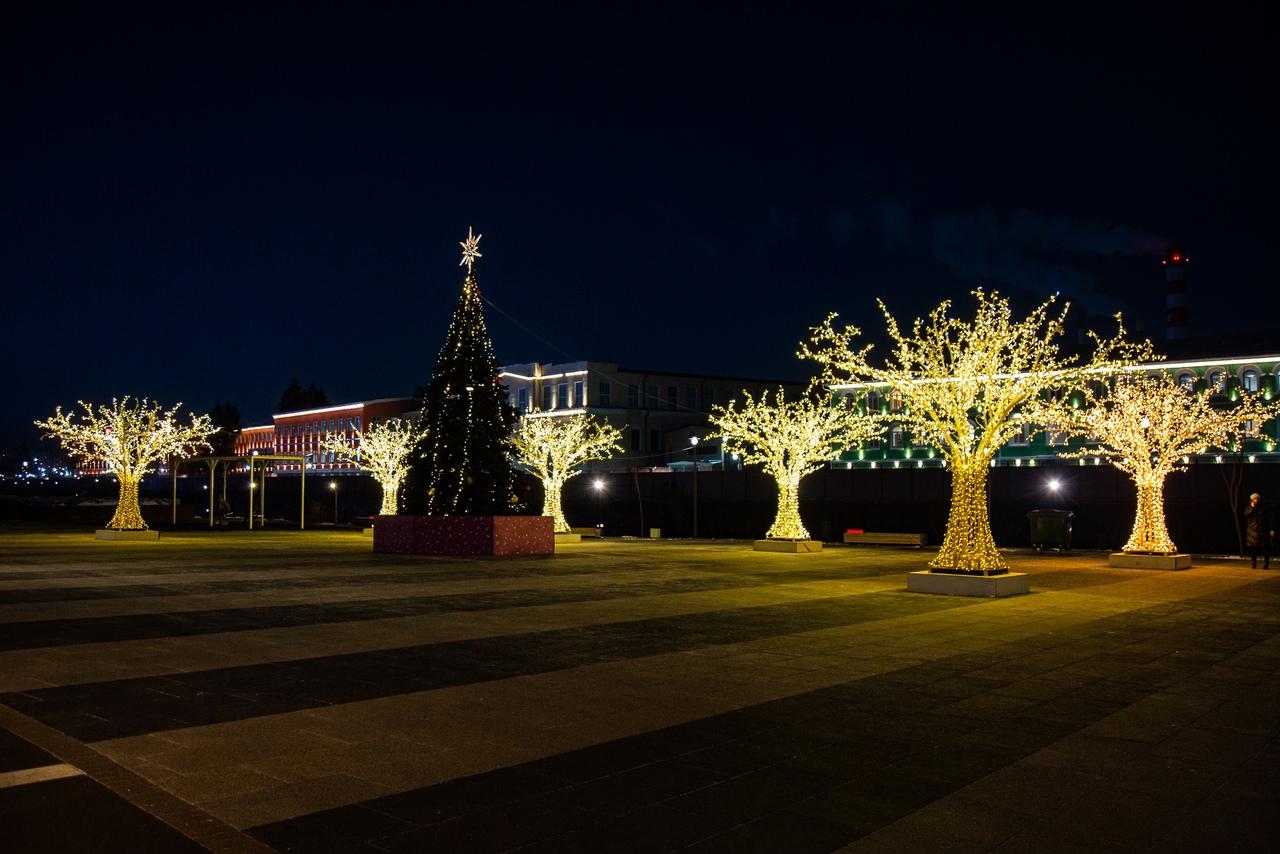 В период новогодних каникул Тулу посетили 70 тысяч человек