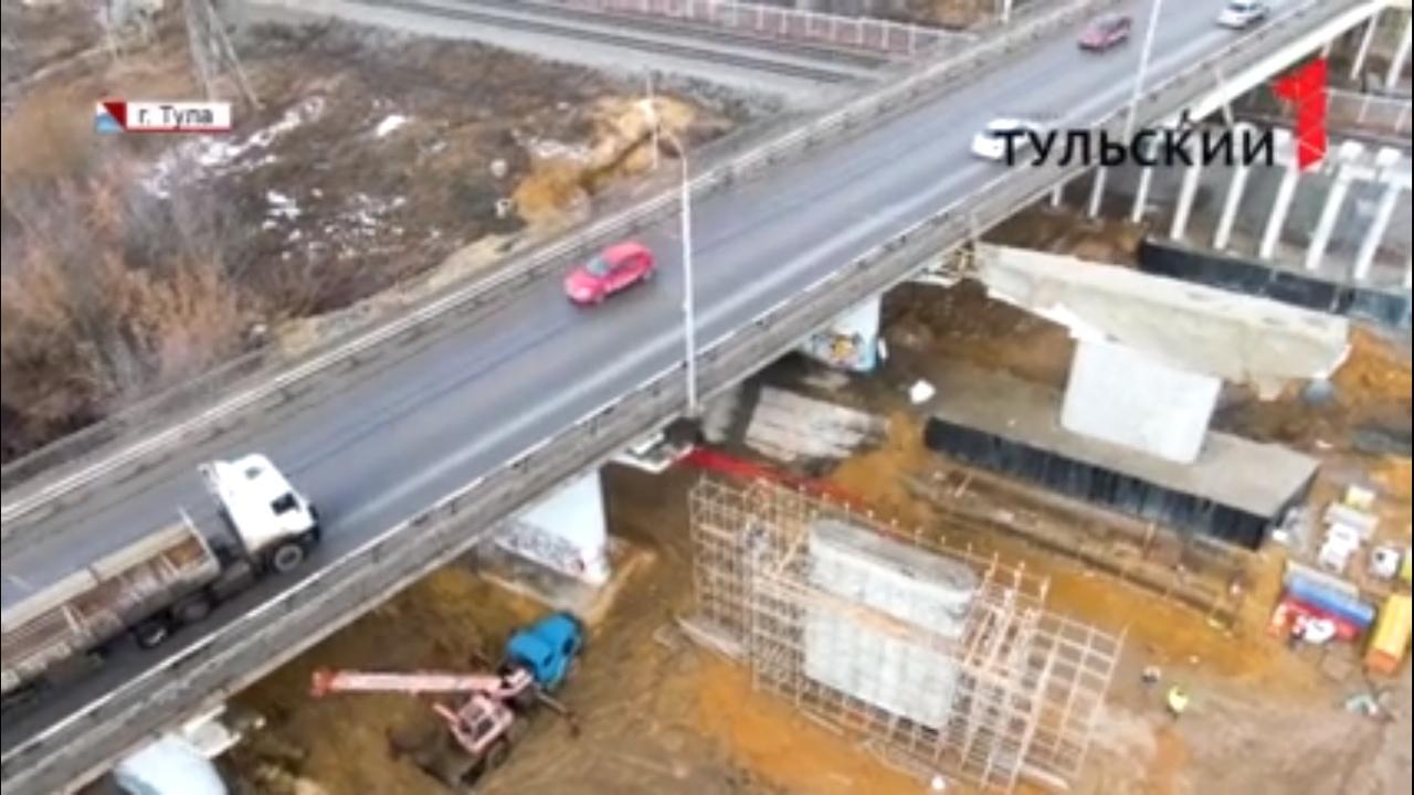 4 моста возведут в Тульской области до конца года