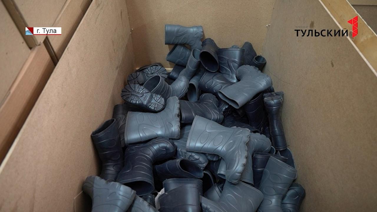 Тулякам через Интернет продавали контрафактную обувь