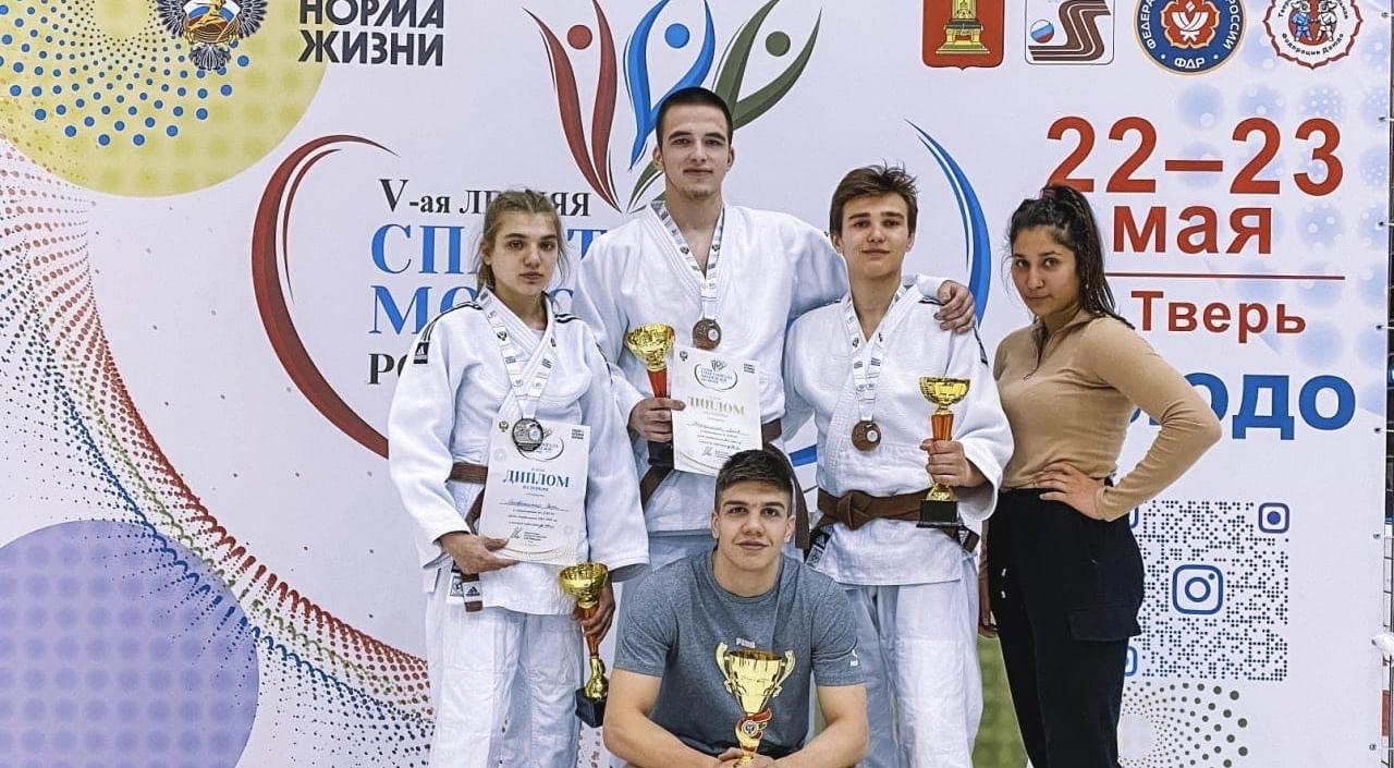 Тульские дзюдоисты завоевали 7 медалей на этапе летней Спартакиады молодежи