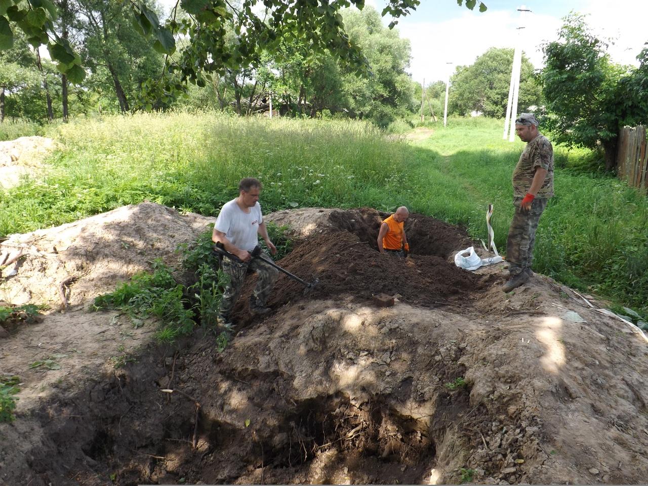 Тульские поисковики нашли в Арсеньевском районе останки 8 солдат Красной Армии