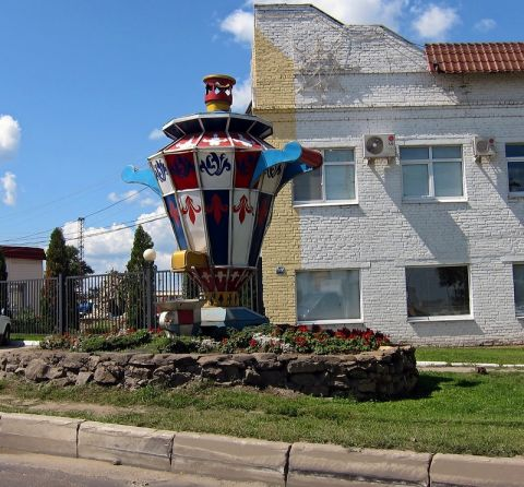 В Тулу вернули памятник самовару