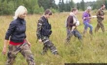 В эти минуты: волонтеры ищут пропавшего в лесу туляка