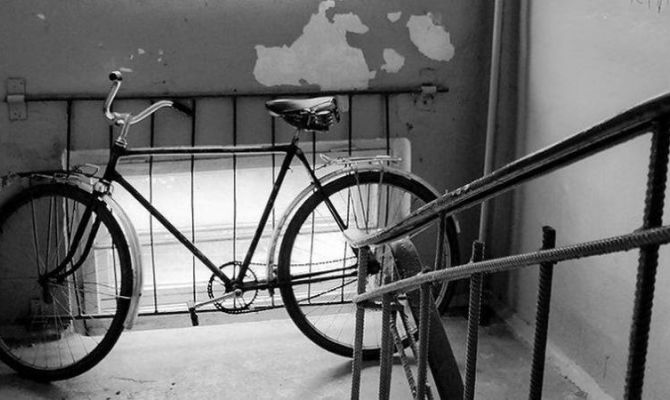 Туляка поймали на краже велосипеда