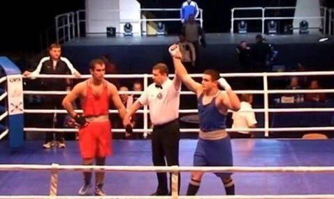 Туляк Даниэль Лутай одержал победу на Чемпионате России по боксу