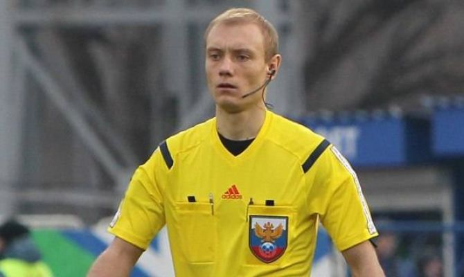Матч «Рубин»-«Арсенал» будет судить Владимир Москалев