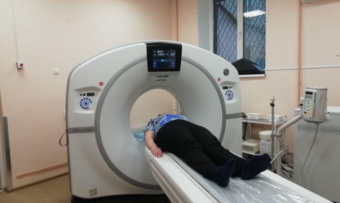 В городской клинической больнице им. Ваныкина появился новый томограф