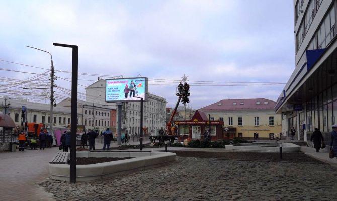 Площадь перед Главпочтамтом в Туле откроют в пятницу 13-го