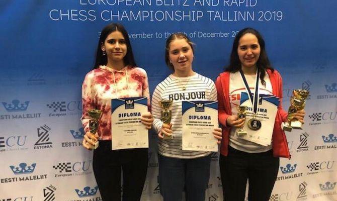 Тулячка выиграла золото в первенстве Европы по шахматам