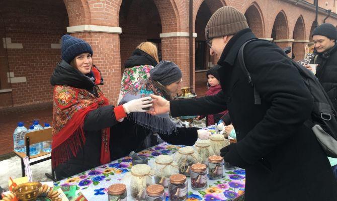 Молодежь Тулы празднует День студента