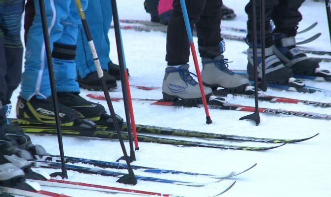 На Косой Горе прошла первая лыжная гонка в 2020 году в Тульской области