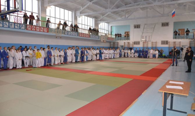 В Богородицке прошел 14-й турнир по дзюдо