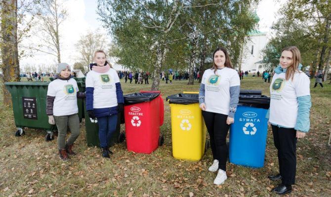 В День воинской славы России на Куликовом поле регоператор «МСК-НТ» организовал раздельный сбор отходов