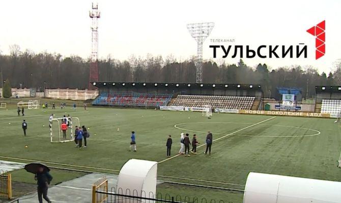 В деревнях Тульской области появились поля для мини-футбола
