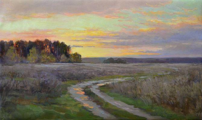 Выставка живописи Арсения Самарина проходит в Туле