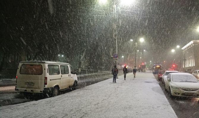 26 января в Туле будет снег с дождем и гололедица