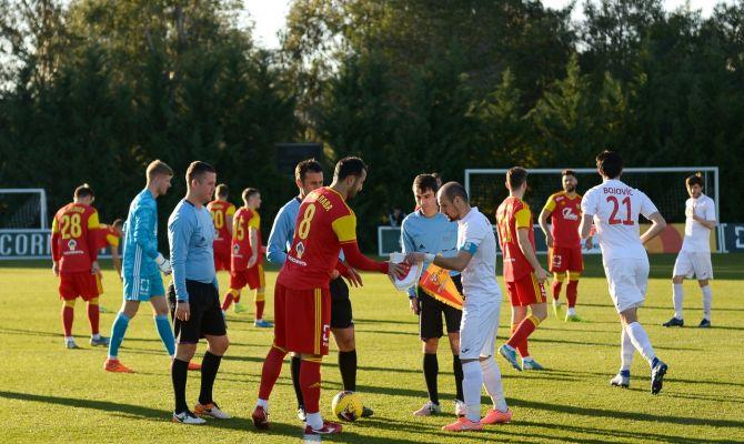 Тульский «Арсенал» одержал первую победу на сборах