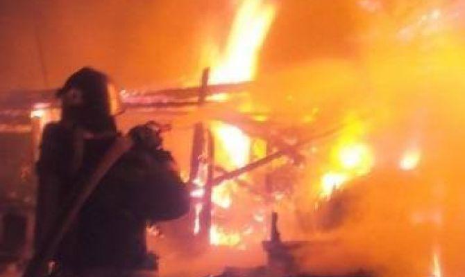 В Веневском районе в частном доме сгорела женщина