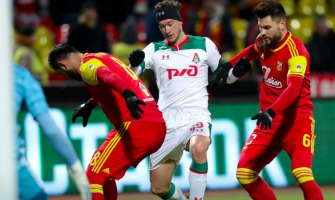 Болельщики ЦСКА, который проиграл «Арсеналу», поддержали «Локомотив»