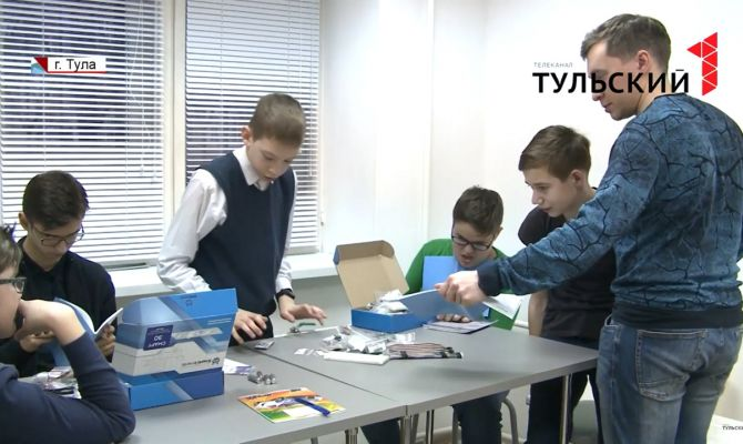 Тульские школьники представят на Чемпионате по робототехнике секретную разработку