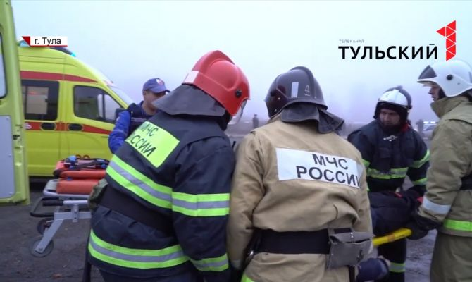 Пожарные, медики, спасатели: что произошло на трассе М-2 под Тулой