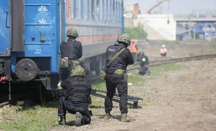 В Тульской области на железнодорожных объектах прошли антитеррористические учения