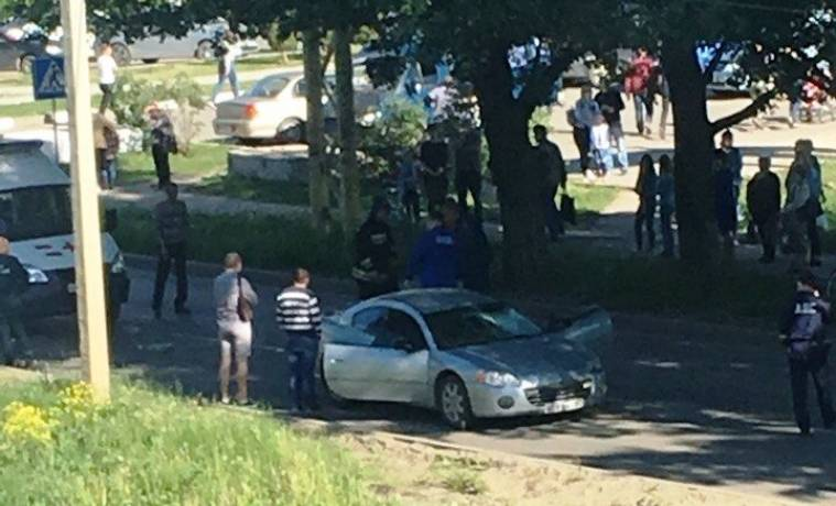 В Новомосковске иномарка насмерть сбила пожилую женщину
