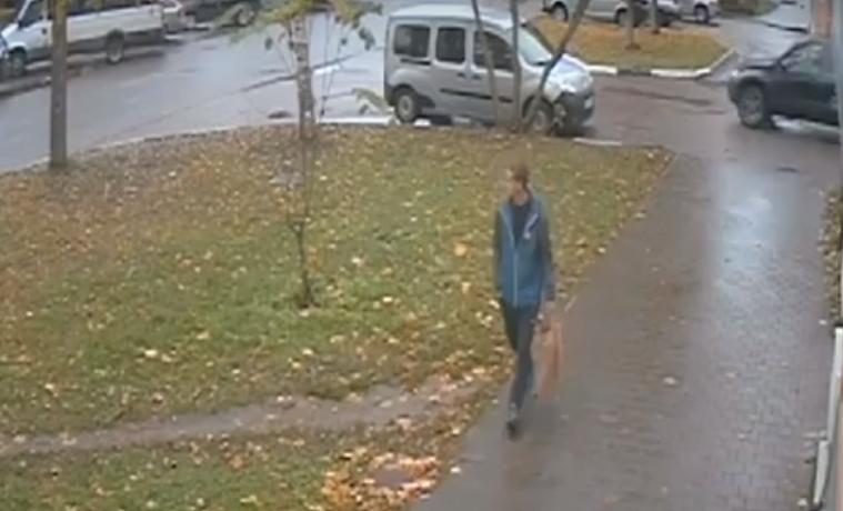Педофил, напавший на маленькую тулячку, попал на видео