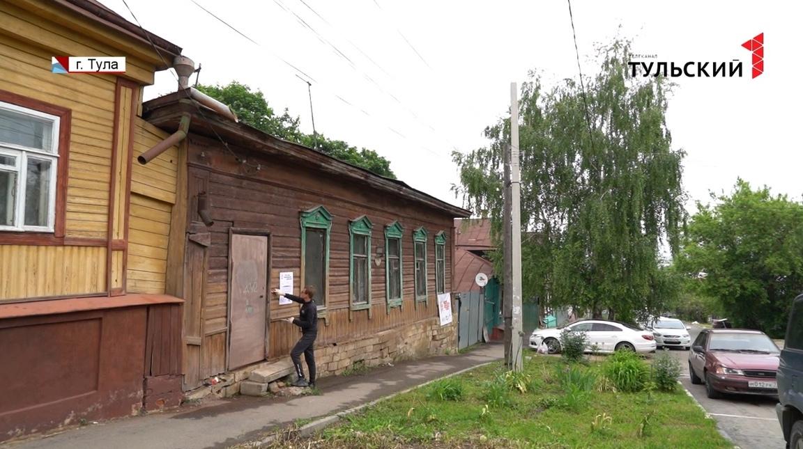 Тульские волонтеры завершают реставрацию деревянного дома конца XIX века