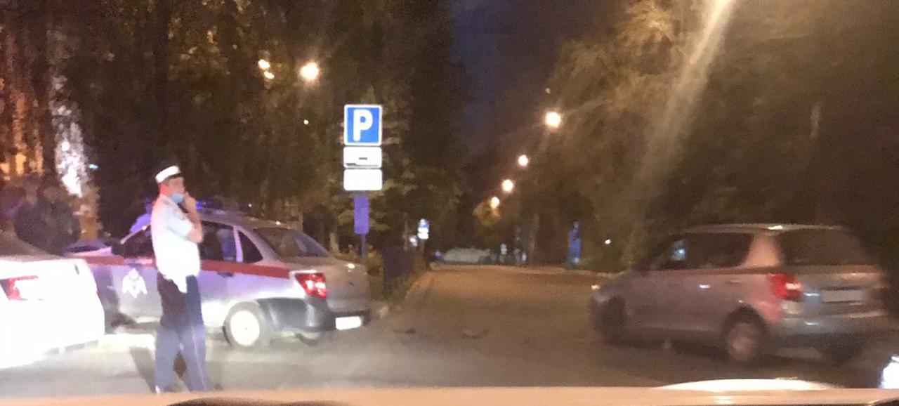 В Туле произошло ДТП с автомобилем Росгвардии